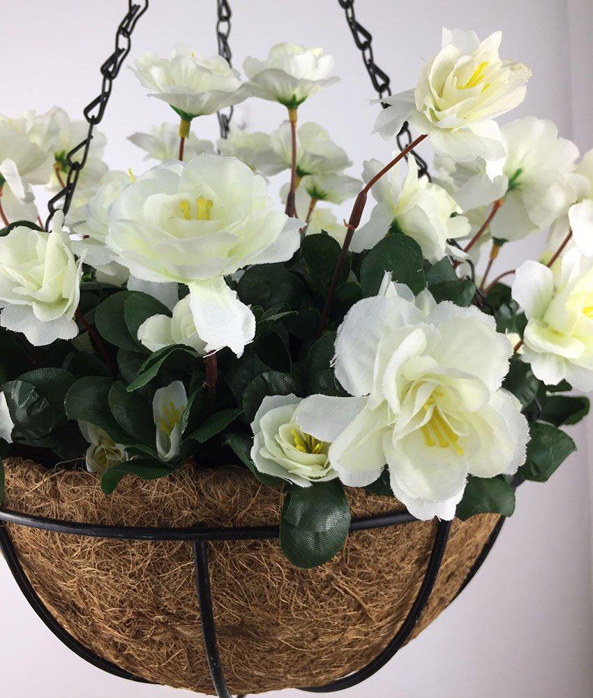 Lopkey-Outdoor-Artificial-Red-Azalea-Bush-Flower-Patio-Lawn-Garden-Hanging-Basket-Chain-Flowerpot