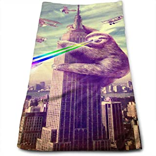 WCMBY Sloth Attach America Towel