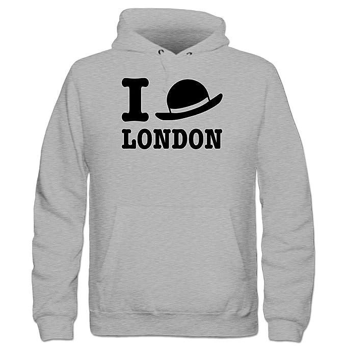 Shirtcity Sudadera con Capucha niño I Love London Bowler Hat by: Amazon.es: Ropa y accesorios