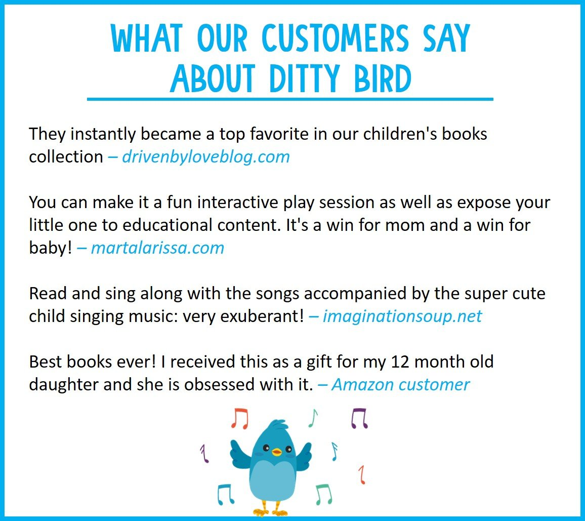 Our Best Interactive Children's Songs Book for Babies. Musical Toddler Book. Sound Books for one Year Old. Educational Toys for 1 Year Old boy Gifts. Gift for 1 Year Old Girl. Awards Winner! Blue by DITTY BIRD (Image #5)