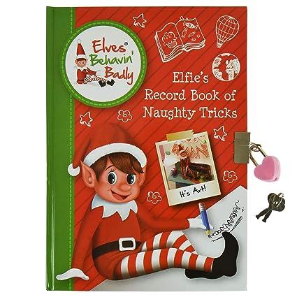 Elves Behavin Badly A5 Elf Secret - Agenda con candado y ...