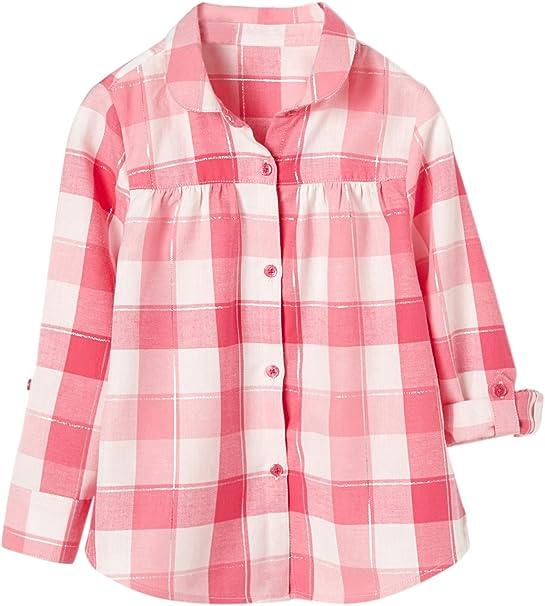 VERTBAUDET Camisa a Cuadros niña Rosa Medio A Cuadros 8A: Amazon.es: Ropa y accesorios
