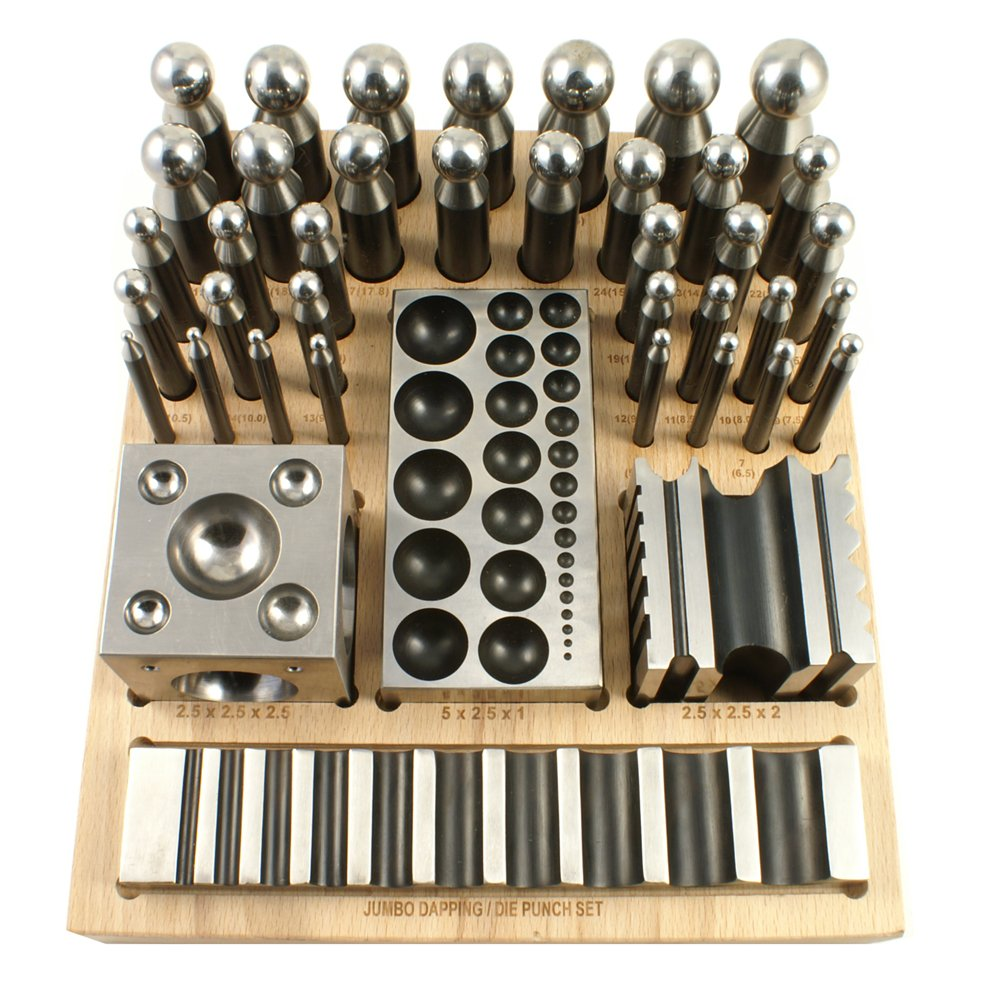 40 Piece Forming and Dapping Set - SFC Tools - 25-625