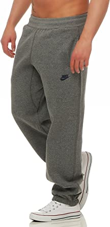 Nike Hombre Pantalón Jogger Polar Correr Chándal Bajos Gym Sudaderas - algodón, Gris Oscuro, algodón, 20% poliéster 80% algodón 80% algodón, Hombre, Chica: Amazon.es: Ropa y accesorios