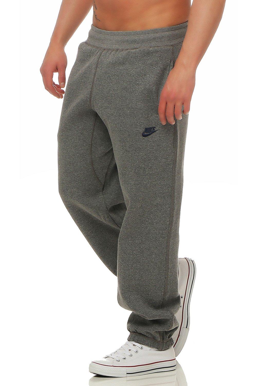 4e2d4a932eda Nike Stitch Cuffed Club Sweat Pants Mens Sport Trousers Training Dark Grey