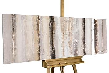 Handgemalte Bilder Auf Leinwand kunstloft acryl gemälde vanilla sky 150x50cm original