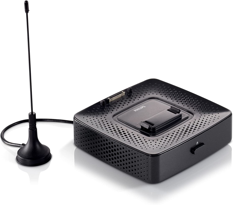 Philips PicoPix - Emisora de TV con TDT (Indicadores LED, Bluetooth), Negro