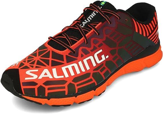 Salming Men Speed 6 Neutral Running Shoe Running Shoes Orange ...