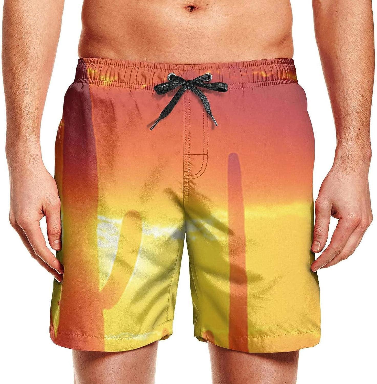 BEAQ45 Alpaca Mens Swim Trunks Home Shorts Sports Pants