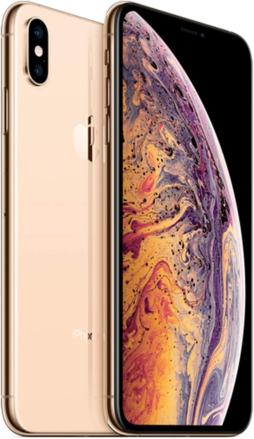 Apple iPhone Xs Max, 512GB, Gold - Fully Unlocked (Renewed)