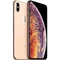 Apple iPhone XS Max, 256GB, Gold - Fully Unlocked (Renewed)