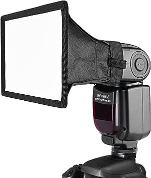 Camera Flash Diffusore Softbox Silver White Reflector per Canon Nikon SpeedliT