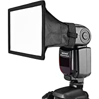 "Neewer 8 ""× 12 (20cmX30 cm Universal plegable cuadrado Studio Softbox Difusor de flash para On cámara o Off cámara Flash…"
