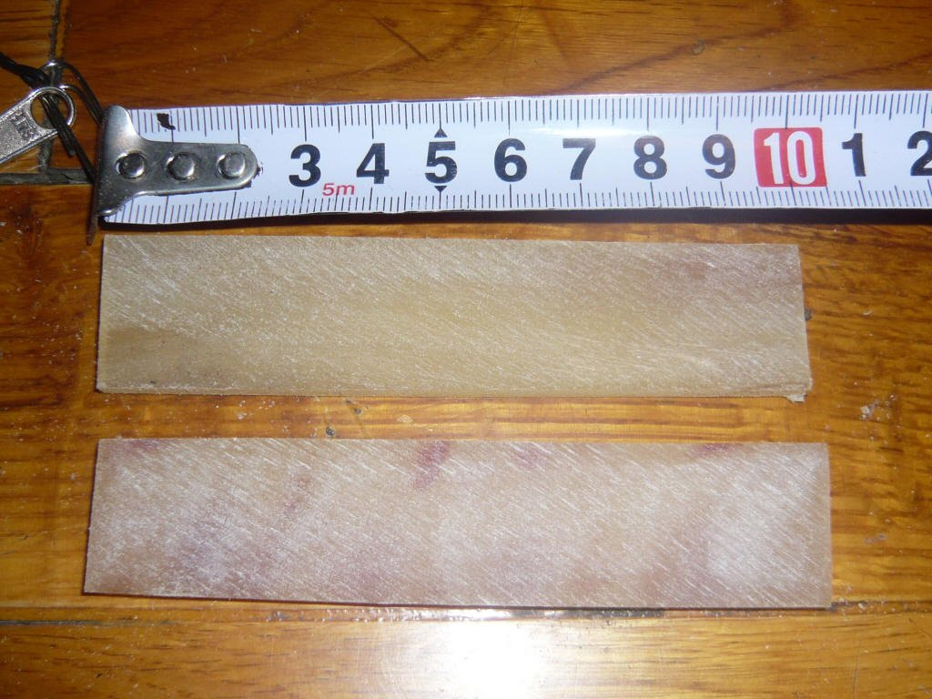 60 ram Horn Scales for Making Insert Horn Nocks or Handles Knives Etc by Unknown
