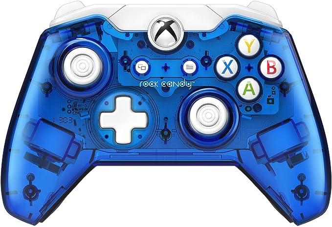 PDP - Mando Rock Candy Licenciado, Color Azul (Xbox One): Amazon ...