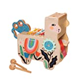 Manhattan Toy Musical Llama Wooden Instrument for