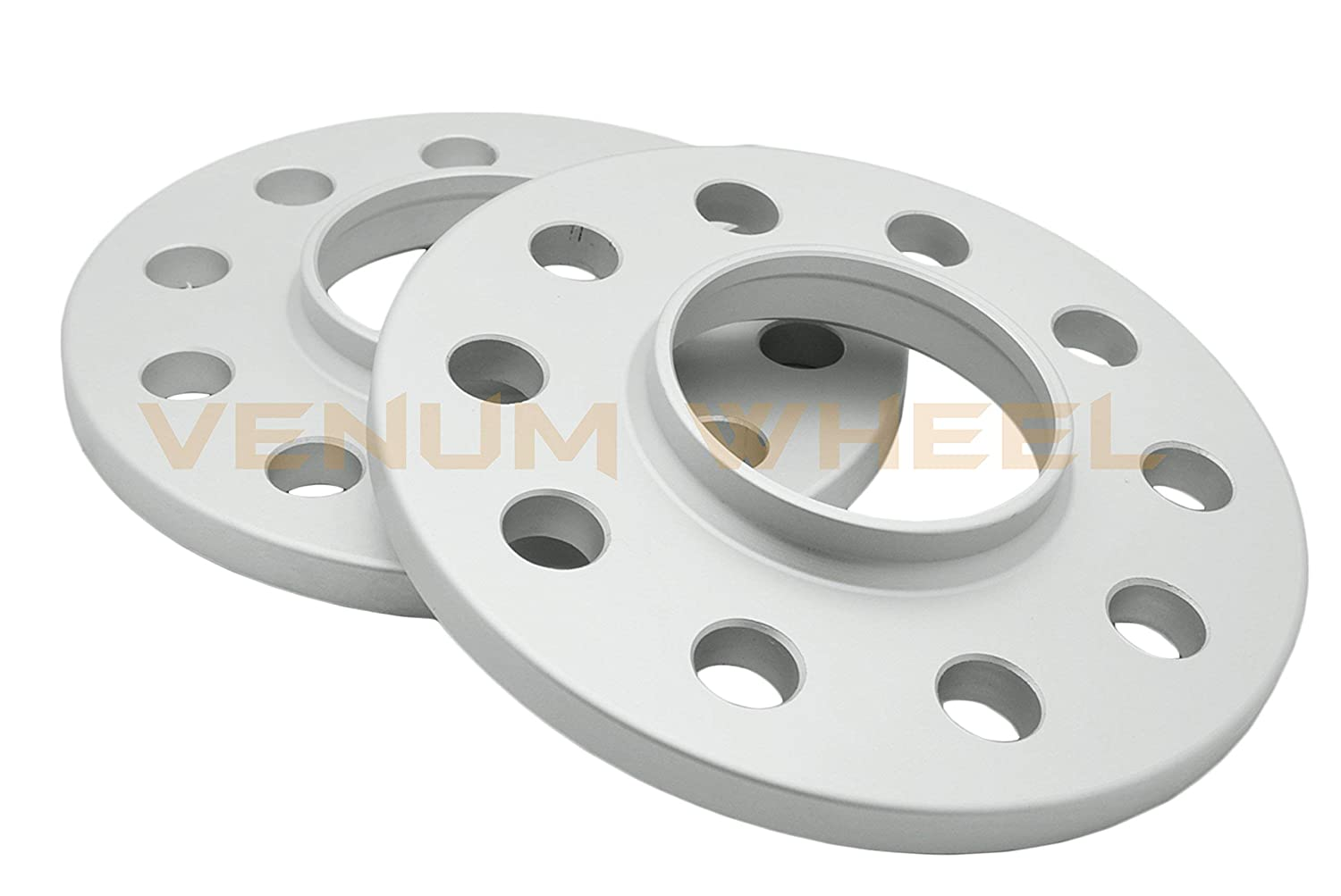 2 Pc Rear 10mm Mercedes Benz 5x112 Spacer Kit 2003-2009 W209 Chasis w//Extended Chrome Lug Bolts 12x1.5 Thread