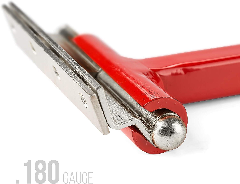 Dual Hinge Bender for Comercial Door Hinges Hinge Knucke 0.134/&0.180 Gauge Red Color