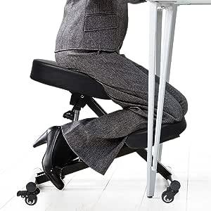 Ergonomic Kneeling Chair Adjustable Computer Chair Home Office Work Furniture