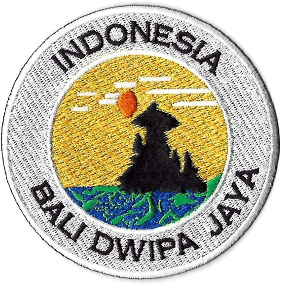 Karma Patch /Écusson brod/é /à Coudre ou thermocollant Bali Dwipa Jaya Indonesia 90 mm