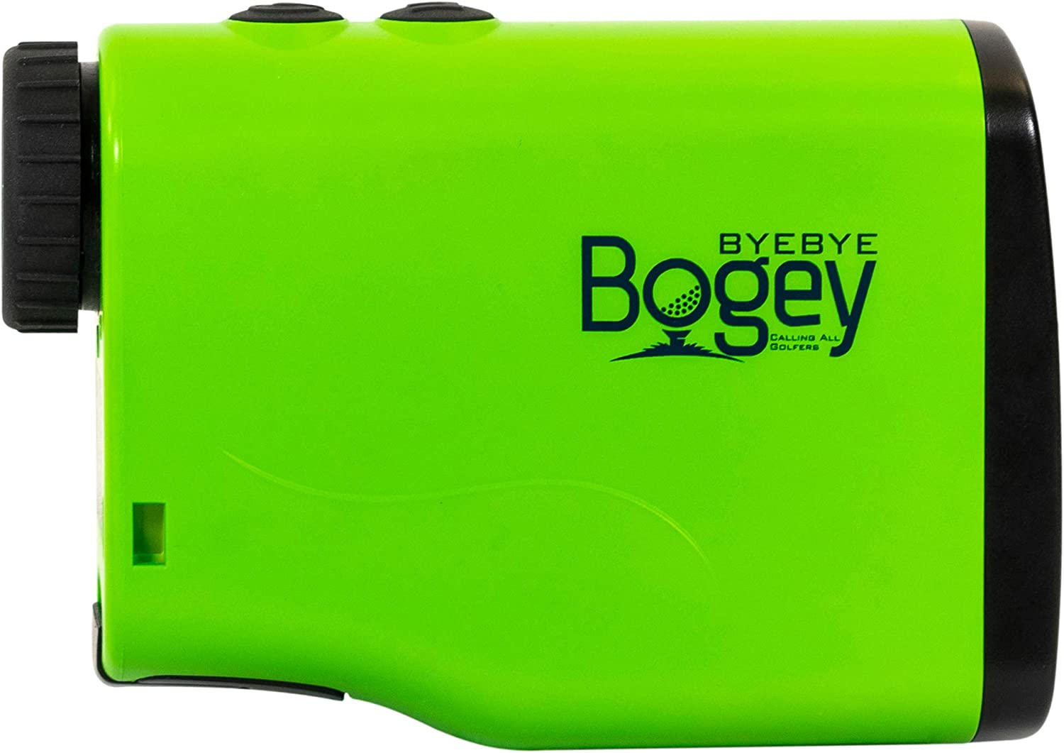 Bye Bye Bogey – Pro 600M Laser Golf Rangefinder with Jolt Slope Technology, 600 Yard Range, 6X Magnification, Accuracy Within 1 Yard, Battery Included, 2-Year Warranty