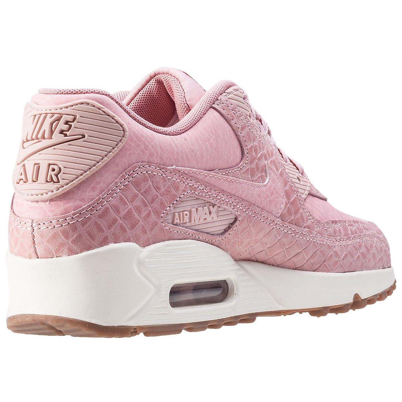 nike air max 90 premium trainers in pink