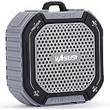 YAYUSI 便携 Bluetoothスピーカー 4.2 Hi-fi 18時間連続再生 IP65 防水FM 風呂 アウトドア 自転車