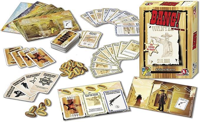 Abacus BANG! - Juego de tablero, idioma: alemán: Sciarra, Emiliano: Amazon.es: Juguetes y juegos