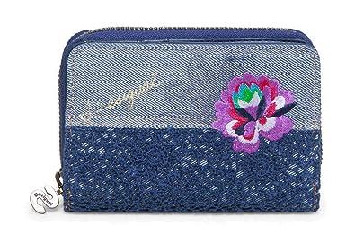 Desigual Mone Magnetic Exotic Jeans Marino: Amazon.es ...