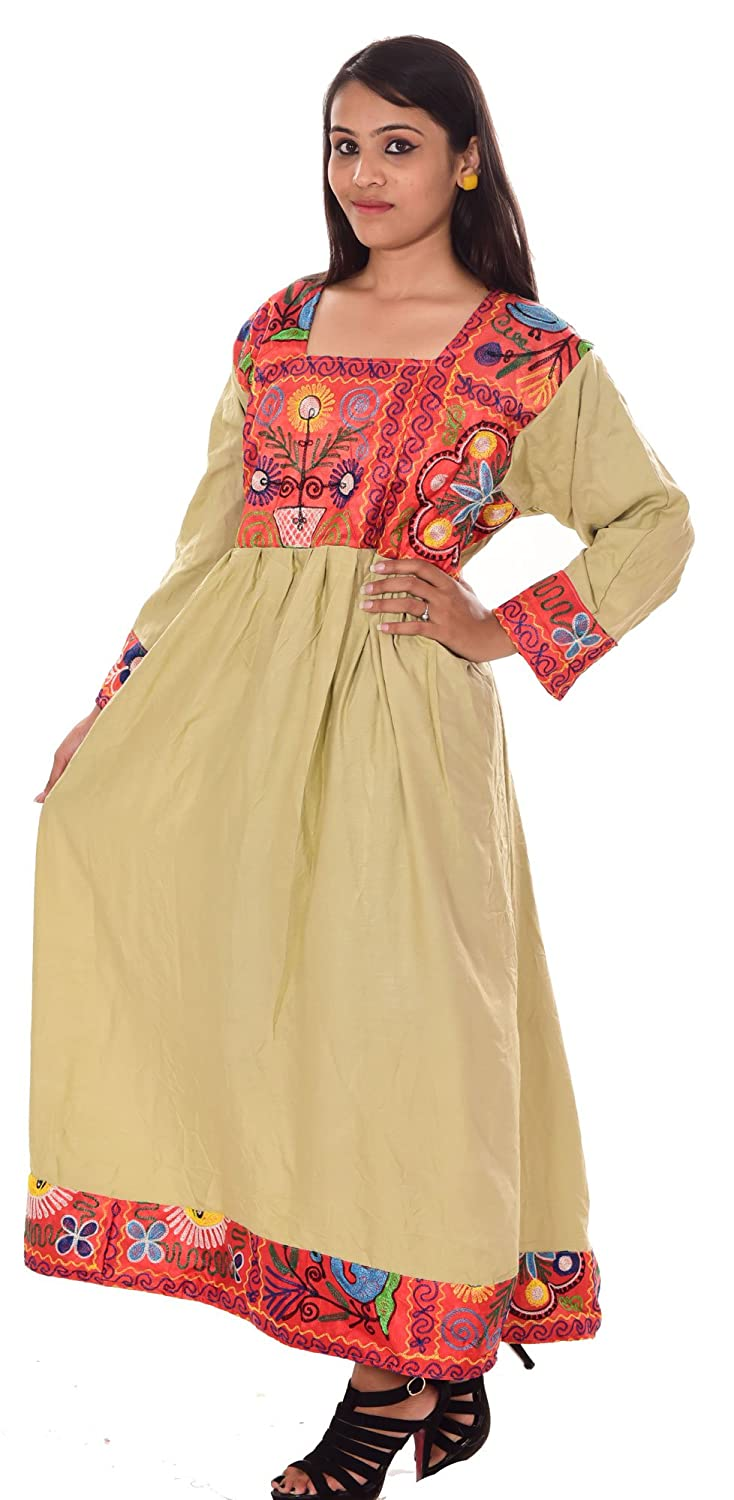 Lakkar Hawali Indian Banjara Embroidered Women Afgani Dress ...