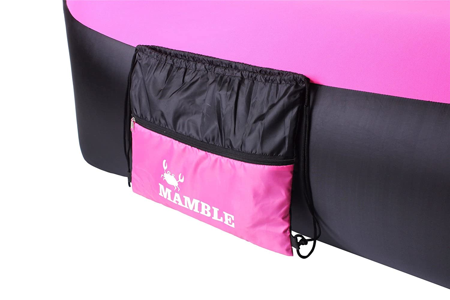 MAMBLE Inflatable Lounger Sofa Portable Sofa Bed Air Sofa for Travelling, Camping, Beach, Park