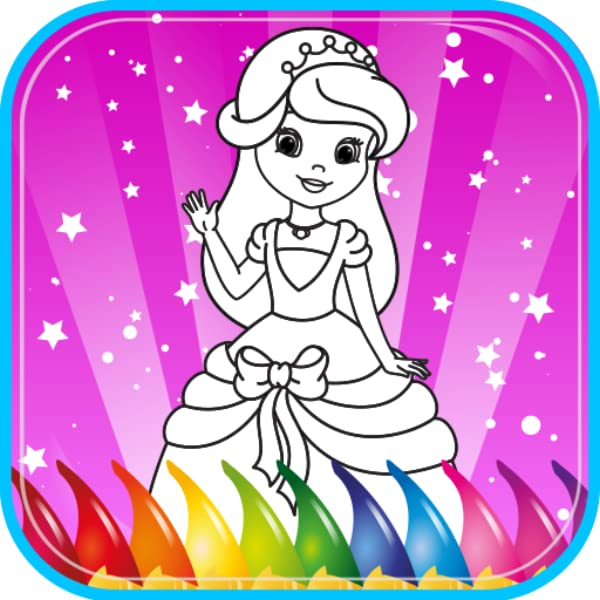 Amazon.com: Princess Coloring Book For Kids, Coloring Game For Girls,  Kindergarten And Preschool Toddler Girls, Children All Ages. Beautiful  Pictures Of Princesses, Knights, Castles, Unicorn, Horse, Heart, Love.  Children Ages 2, 3,