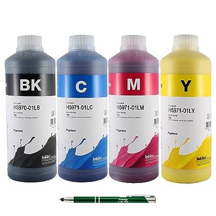 InkTec - Juego de tinta equivalente a HP 970 X L/971 X L (4 x 1 l ...
