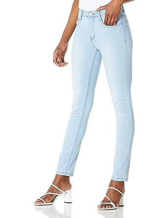Demon&Hunter 608 Skinny Series Mujer Pantalones Vaqueros Elevar Curva Pitillos Jeans