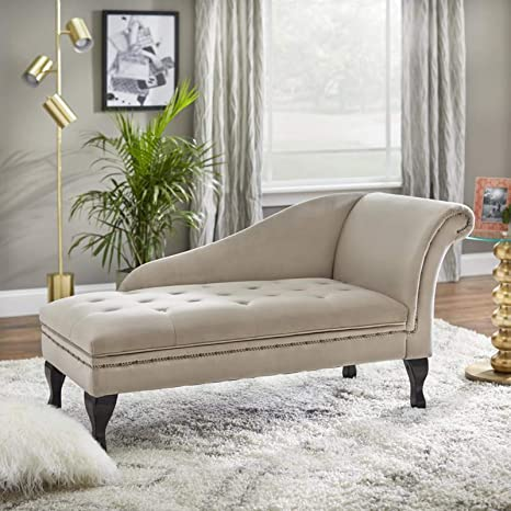 Pleasing Amazon Com Storage Chaise Lounge Chair Modern Living Room Inzonedesignstudio Interior Chair Design Inzonedesignstudiocom