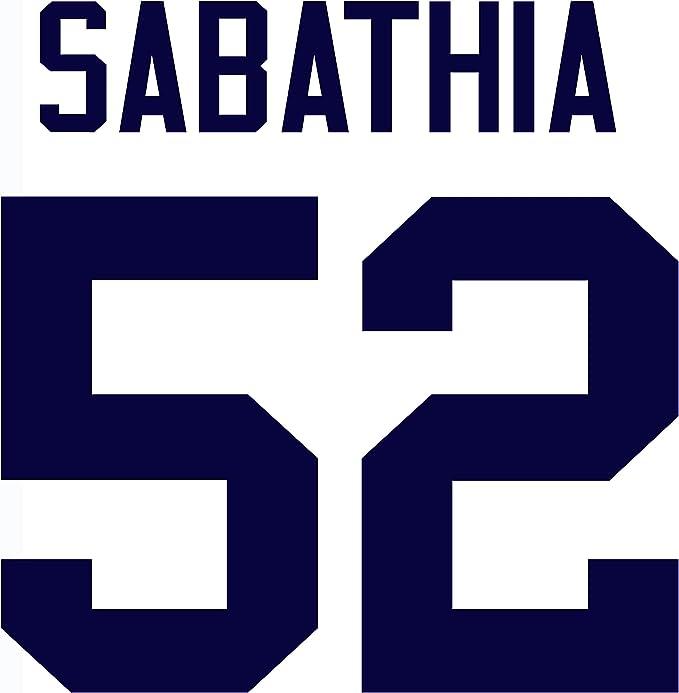 CC Sabathia New York Yankees Baseball Player Jersey