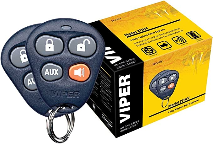 [DIAGRAM_3ER]  Amazon.com: Viper 211HV 1-Way Keyless Entry System | Viper 211hv Wiring Diagram |  | Amazon.com