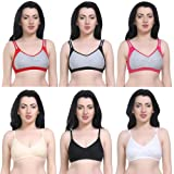 Sababeauty Women's Bras pack of 6