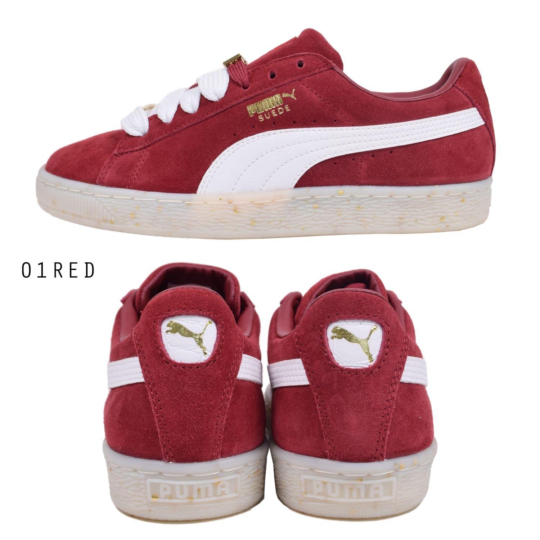 Puma Suede Classic Bboy Fabulous Damen Sneaker Dunkel Rot