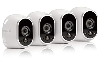 Arlo - Wireless Home Security Camera System with Motion Detection | Night  vision, Indoor/Outdoor, HD Video, Wall Mount | Cloud Storage Included | 4