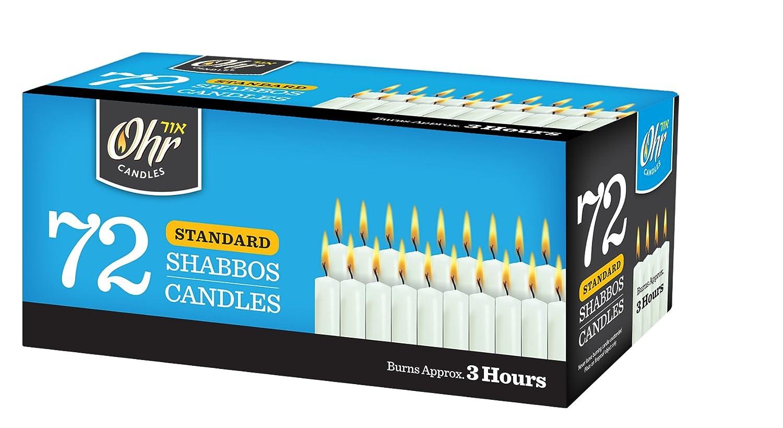 Shabbat Candles - Traditional Shabbos