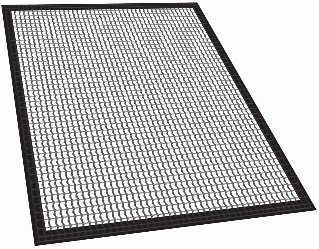 Masterbuilt 20090215 2-Piece Fish and Vegetable Mat for Smoker, 30""