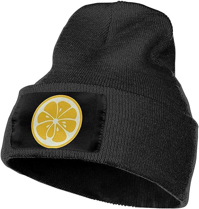 Turring-shop Gorra Amarilla con Calavera de limón Hombres Mujeres ...