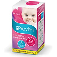 Best Ovulation Predictor Kit - 25 Ovulation Test Strips and 5 Pregnancy Test Strips - Fertility Test for Women - for…
