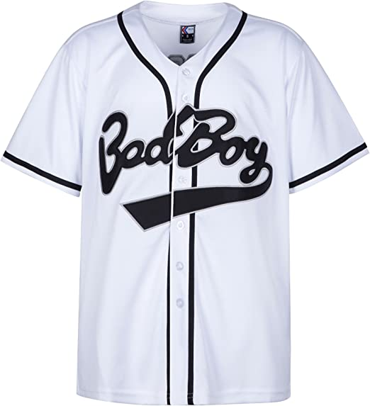 MOLPE Badboy #10 Biggie Baseball Jersey