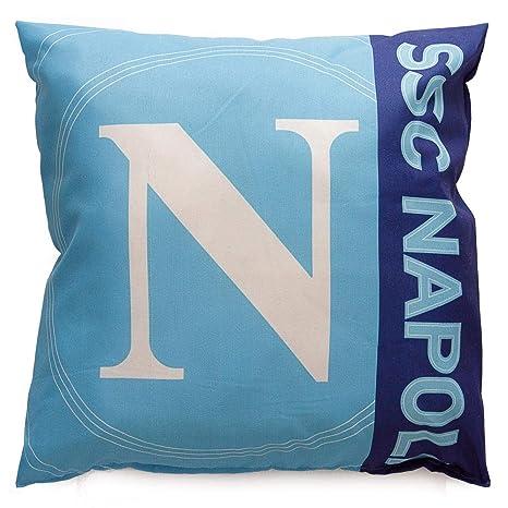 SSC Napoli cojín Puff oficial arredo casa 42 x 42 cm M464 ...