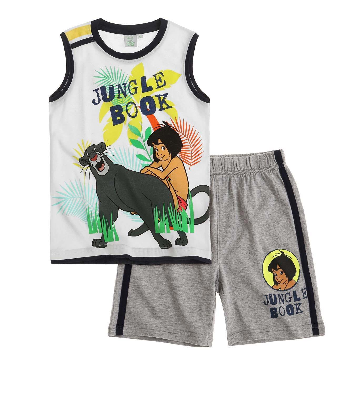 Disney The Jungle Book Ragazzi Maglietta e Pantaloncini 2016 Collection - Bianco
