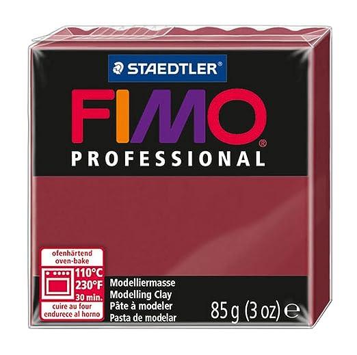 2 opinioni per FIMO PROFESSIONAL- Pasta da modellare, 85 g, bordeaux