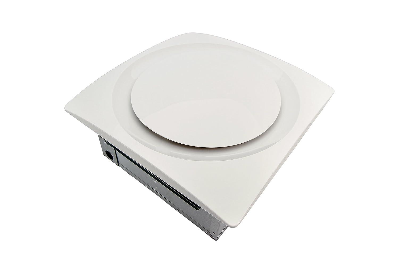 Aero Pure AP 90H-S G6 W Slim Fit Bathroom Fan with Integrated Humidity Sensor, TrueWhite Finish