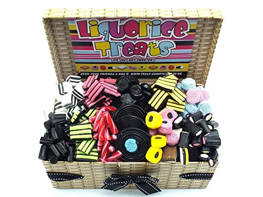 Truly Sumptuous CHRISTMAS Hampers Luxury Liquorice Hampers - A HUGE 1.5kg of Decadent Liquorice Treats